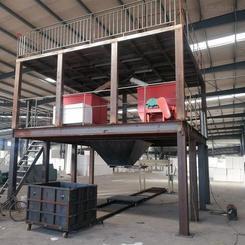 云翔A级匀质防火板生产线 改性BS防火保温板