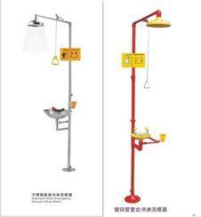 金华洗眼器价格|温州不锈钢紧急冲淋洗眼器厂家直销