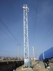 供应25.5米城市广场SDT升降式投光灯塔