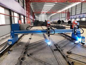 盖梁骨架片钢筋焊接机器人
