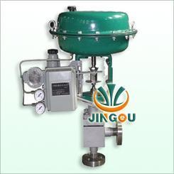 电站气动薄膜高压角型调节阀,气动高压角式调节阀