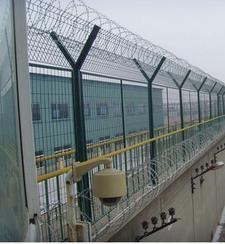 监狱钢网墙 内墙钢网墙 放风场钢网墙 围墙加高钢网墙