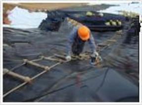 土工膜施工,养殖膜厂家,藕池专业土工膜,鱼池养殖膜