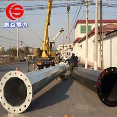 供应优质10KV钢管杆、电力钢杆及电力管塔