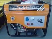 电启动汽油发电电焊机|上海自发电电焊机YT250A