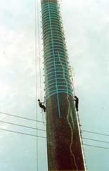烟囱加固维修工程