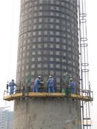 烟囱碳纤维加固