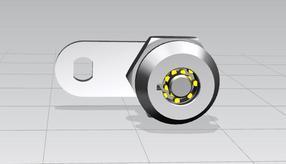 新型高安全双环管状转舌锁