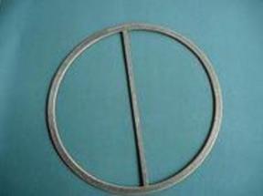 换热器用金属缠绕垫(带筋),异形石墨垫,金属石墨垫