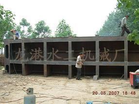 大型钢结构闸门、平面定轮闸门、滑动闸门