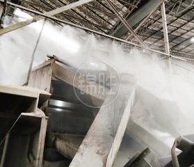 湖北砂石厂除尘方案-武汉采石场除尘视频-江夏水泥厂喷雾除尘达到严格标准