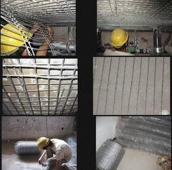 建筑加固聚合物高强度加固钢丝网