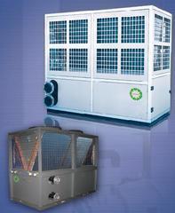 喷气(液)增焓模块式风冷冷(热)水机组