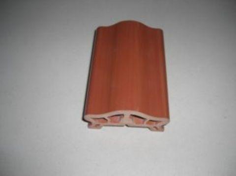 台湾塑木木纹扶手生产,pvc楼梯扶手厂家
