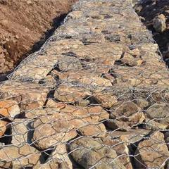 PVC覆塑五绞固滨笼 堤岸防护固滨石笼 生态绿滨垫护岸