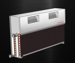 CPAD强制对流散热器(暗装)