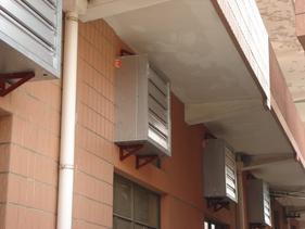 通风降温设备-安装图例