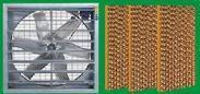 供应新一代厂房通风降温产品—-风机+水帘
