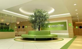 广州华美医院展厅空间装修设计