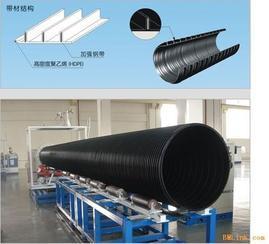 昆达HDPE塑钢缠绕排水管