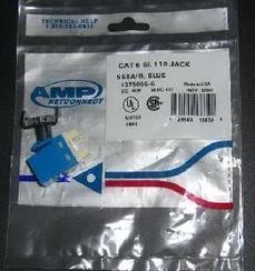 安普超五类模块, 原装AMP模块,六类信息模块