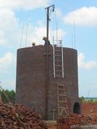 新建40米砖烟囱04G211砖烟囱图集
