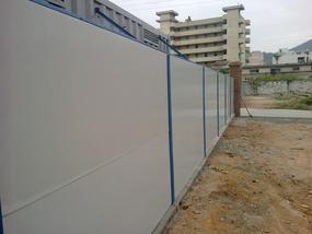供应简易活动围墙 建筑工地活动围墙