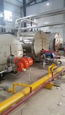 全自动燃油(气)卧式热水锅炉燃油燃气锅炉