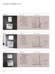 PVC浴室柜广州箭牌PVC浴室柜柜子