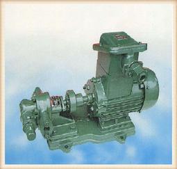 KCB型齿轮泵为卧式回转泵