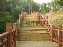 仿木栏杆,绿化栏杆,栈道栏杆,仿木栈道