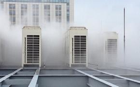 空调外机喷雾降温节水方案空调喷雾降温设备