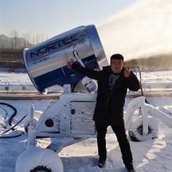 浙江安吉滑雪场设备 观音堂全自动造雪机厂家
