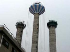伞形水塔新建