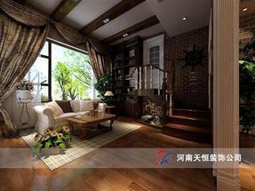 复式楼装修设计,打造最舒适的复式楼装修设计,复式楼装修设计首选天恒装饰公司