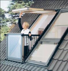 威卢克斯阁楼天窗高端阳台窗