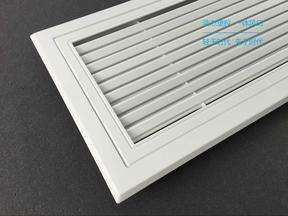 ABS无缝风口生产厂家,耐用的ABS一次成型风口,高强度注塑成型一体风口