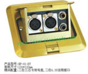 接线地插 地面接线盒 多功能地面插座