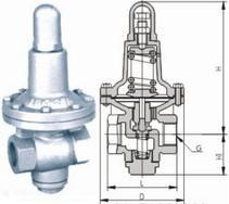 进口德国减压阀,德国蒸汽减压阀,不锈钢减压阀,活塞式减压阀
