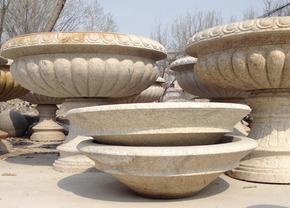 石材花盆花钵雕刻