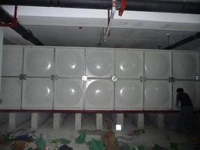 装配式smc玻璃钢给水箱北京麒麟供水公司