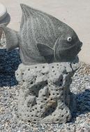 鱼雕刻/石雕工艺 GAB498