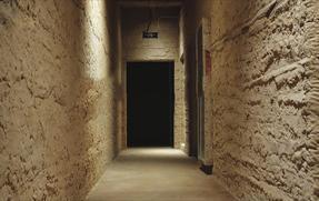 广东强固土胚墙厂家艺术仿古墙面材料水泥基黄土墙报价