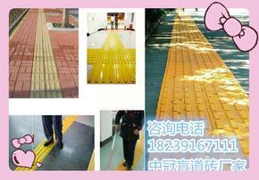 高铁、地铁盲道砖细节/什么是全瓷盲道砖12