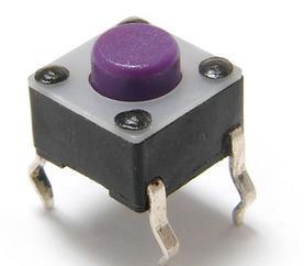 6*6贴片按键插脚轻触开关 音频视频测试仪表轻触开关