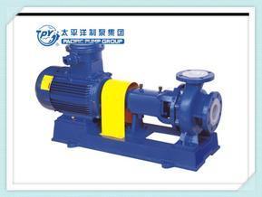 IHF-单级单吸式氟塑料合金化工离心泵太平洋