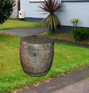 花岗岩花园凳子 GCF482