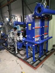 全自动无人值守换热机组 汽水板式换热器机组 水水板式换热器机组 换热机组
