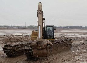 水陆两栖挖掘机出租