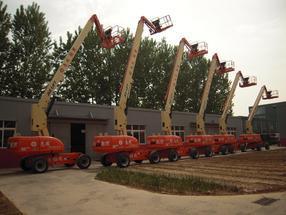 租赁 出租高空作业车 进口设备10米-43米 升降机出租